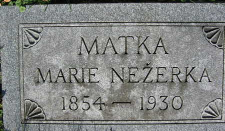 NEZERKA, MARIE - Linn County, Iowa | MARIE NEZERKA
