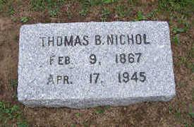 NICHOL, THOMAS - Linn County, Iowa | THOMAS NICHOL