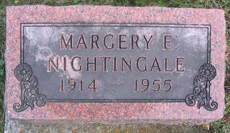 NIGHTINGALE, MARGERY E. - Linn County, Iowa | MARGERY E. NIGHTINGALE