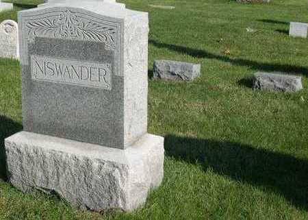 NISWANDER, FAMILY STONE - Linn County, Iowa | FAMILY STONE NISWANDER