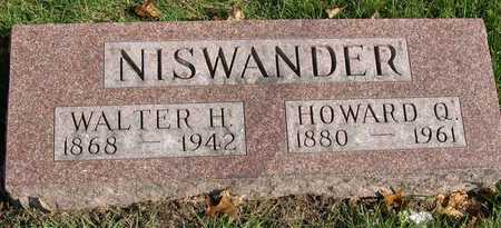 NISWANDER, HOWARD Q. - Linn County, Iowa | HOWARD Q. NISWANDER