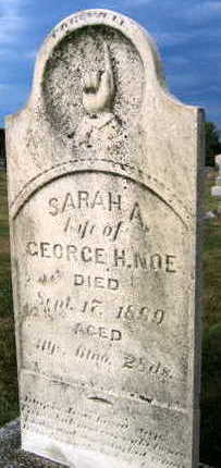 NOE, SARAH A. - Linn County, Iowa | SARAH A. NOE