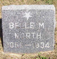 NORTH, BELLE M. - Linn County, Iowa | BELLE M. NORTH