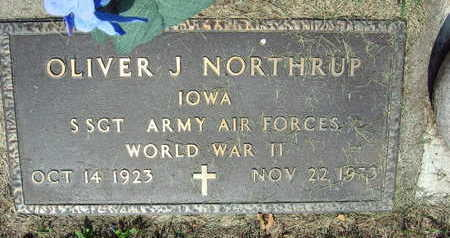 NORTHUP, OLIVER J. - Linn County, Iowa | OLIVER J. NORTHUP