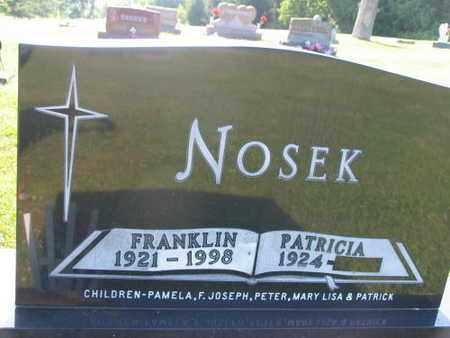 NOSEK, FRANKLIN - Linn County, Iowa | FRANKLIN NOSEK
