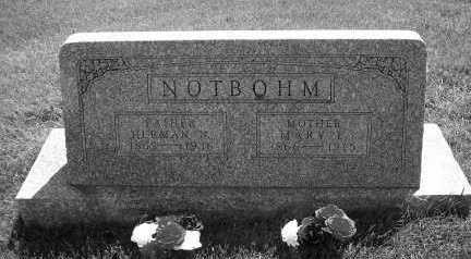 THOMAS NOTBOHM, MARY E. - Linn County, Iowa | MARY E. THOMAS NOTBOHM