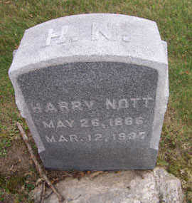 NOTT, HARRY - Linn County, Iowa | HARRY NOTT
