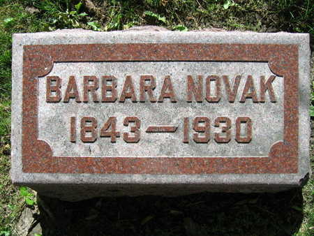 NOVAK, BARBARA - Linn County, Iowa | BARBARA NOVAK