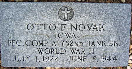 NOVAK, OTTO F. - Linn County, Iowa | OTTO F. NOVAK