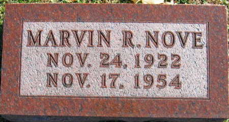NOVE, MARVIN R. - Linn County, Iowa | MARVIN R. NOVE