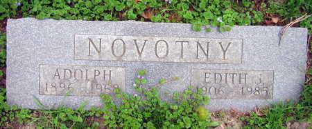 NOVOTNY, EDITH J. - Linn County, Iowa | EDITH J. NOVOTNY