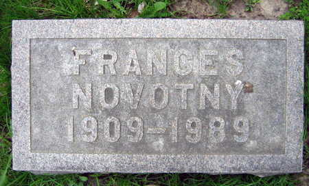 NOVOTNY, FRANCES - Linn County, Iowa | FRANCES NOVOTNY
