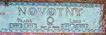 NOVOTNY, FRANK - Linn County, Iowa | FRANK NOVOTNY