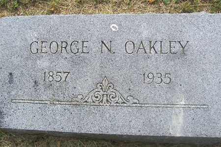 OAKLEY, GEORGE N. - Linn County, Iowa | GEORGE N. OAKLEY