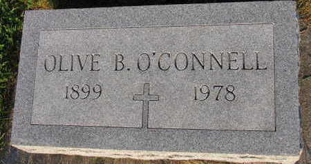 O'CONNELL, OLIVE B. - Linn County, Iowa   OLIVE B. O'CONNELL