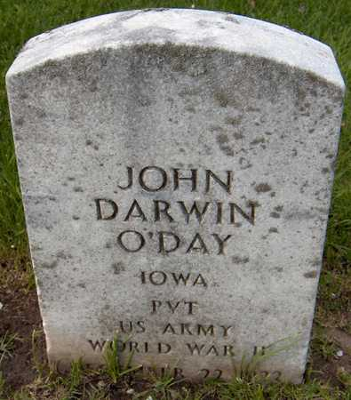 O'DAY, JOHN DARWIN - Linn County, Iowa | JOHN DARWIN O'DAY