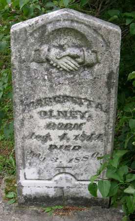OLNEY, MARGRETT A. - Linn County, Iowa   MARGRETT A. OLNEY