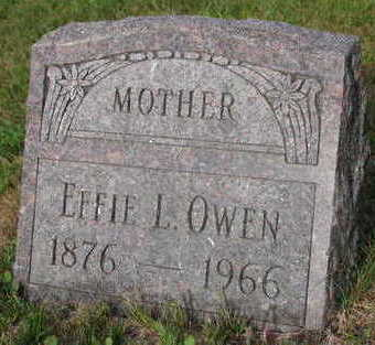 OWEN, EFFIE L. - Linn County, Iowa | EFFIE L. OWEN