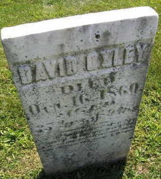 OXLEY, DAVID - Linn County, Iowa | DAVID OXLEY