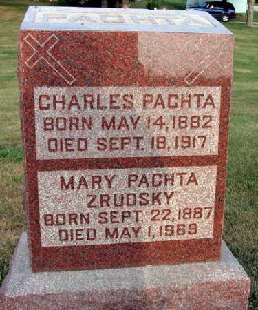 PACHTA, CHARLES - Linn County, Iowa | CHARLES PACHTA