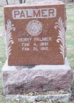 PALMER, HENRY - Linn County, Iowa | HENRY PALMER