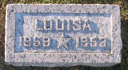 PALMER, LOUISA - Linn County, Iowa | LOUISA PALMER