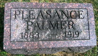 PALMER, PLEASANCE - Linn County, Iowa | PLEASANCE PALMER