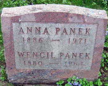 PANEK, ANNA - Linn County, Iowa | ANNA PANEK