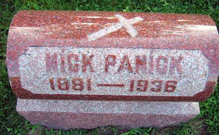 PANICK, NICK - Linn County, Iowa   NICK PANICK