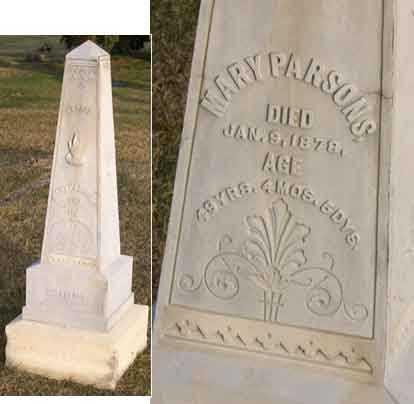 PARSONS, MARY - Linn County, Iowa | MARY PARSONS