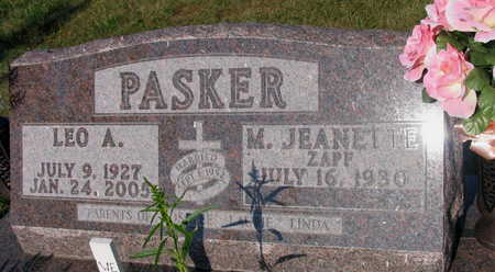 PASKER, LEO A. - Linn County, Iowa | LEO A. PASKER