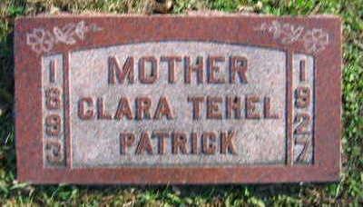 TEHEL PATRICK, CLARA - Linn County, Iowa | CLARA TEHEL PATRICK