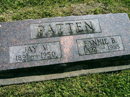 PATTEN, FANNIE B. - Linn County, Iowa | FANNIE B. PATTEN