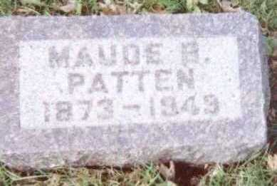 PATTEN, MAUDE B. - Linn County, Iowa | MAUDE B. PATTEN