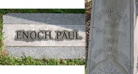 PAUL, ENOCH - Linn County, Iowa | ENOCH PAUL
