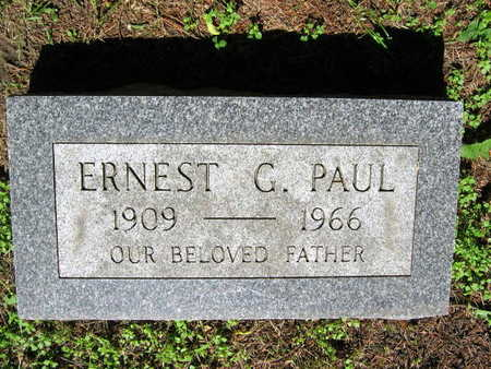 PAUL, ERNEST G. - Linn County, Iowa | ERNEST G. PAUL