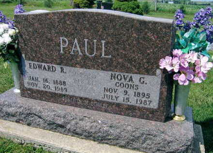 PAUL, EDWARD R. - Linn County, Iowa | EDWARD R. PAUL