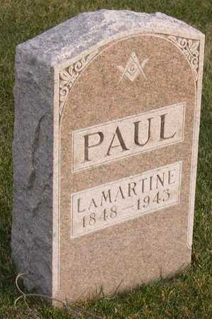 PAUL, LAMARTINE - Linn County, Iowa | LAMARTINE PAUL