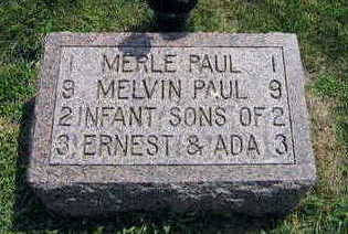 PAUL, MERLE - Linn County, Iowa | MERLE PAUL