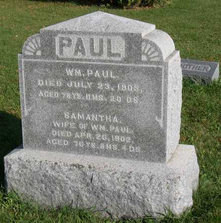 PAUL, WM. - Linn County, Iowa | WM. PAUL