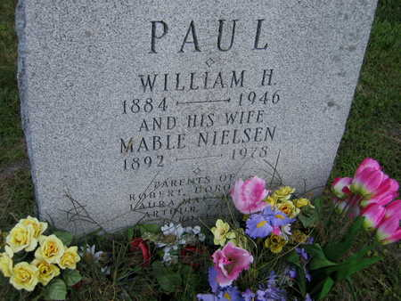 NIELSEN PAUL, MABLE - Linn County, Iowa | MABLE NIELSEN PAUL