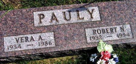 PAULY, ROBERT N. - Linn County, Iowa | ROBERT N. PAULY