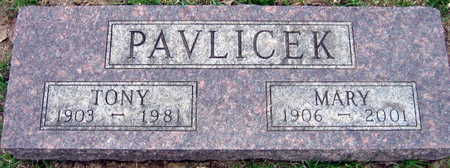 PAVLICEK, MARY - Linn County, Iowa | MARY PAVLICEK