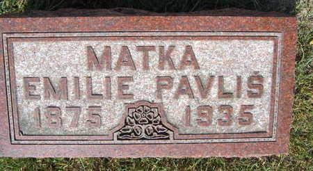 PAVLIS, EMILIE - Linn County, Iowa | EMILIE PAVLIS