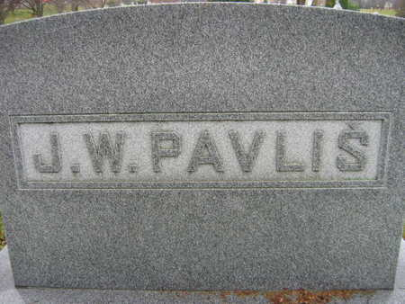 PAVLIS, J. W. FAMILY - Linn County, Iowa | J. W. FAMILY PAVLIS