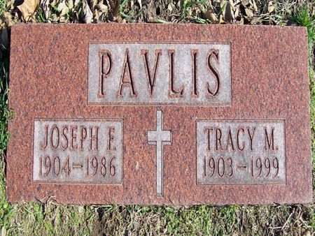PAVLIS, JOSEPH F. - Linn County, Iowa | JOSEPH F. PAVLIS