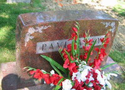 PAVLOVSKY, FAMILY STONE - Linn County, Iowa | FAMILY STONE PAVLOVSKY