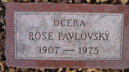 PAVLOVSKY, ROSE - Linn County, Iowa | ROSE PAVLOVSKY