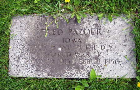 PAZOUR, FRED - Linn County, Iowa | FRED PAZOUR
