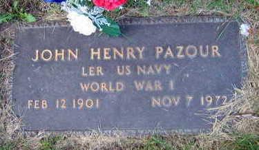 PAZOUR, JOHN HENRY - Linn County, Iowa | JOHN HENRY PAZOUR